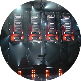 LED-näytöt osana lavatekniikkaa